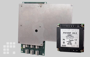 LAWO voltage supply (destination display), power module PH100F